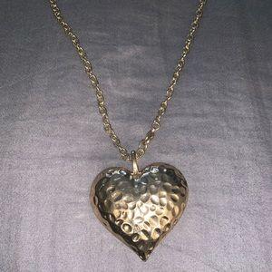 Women's Heart Necklace Costume Jewelry